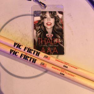 Thalia Latina Love Tour | Drums